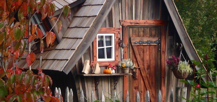 Cabane extérieur au camping à Pont Scorff