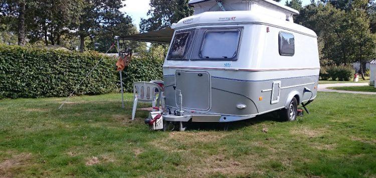 Caravane camping morbihan