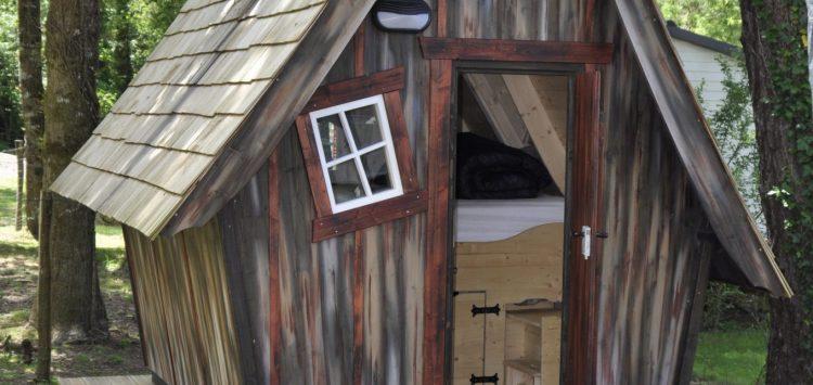 camping cabane Morbihan