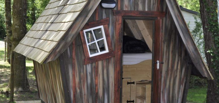 location cabane en bois Morbihan