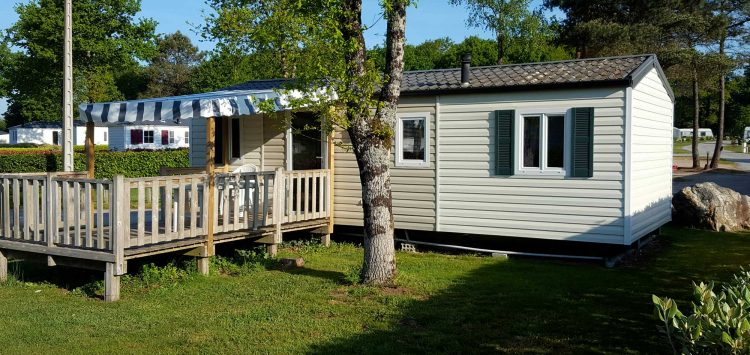 Location mobil-home 6 personnes camping morbihan