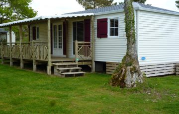 Mobil-home 6 personnes luxe camping morbihan