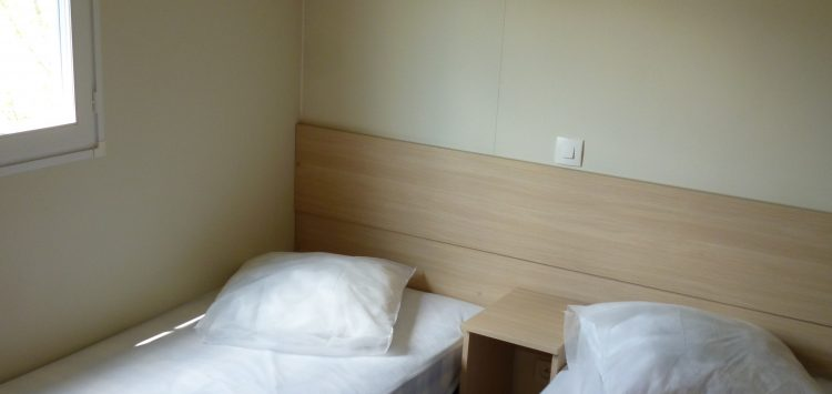 Mobil-home gamme luxe chambre enfants