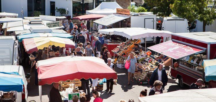 marché Fouesnant alentours Camping Bretagne Sud