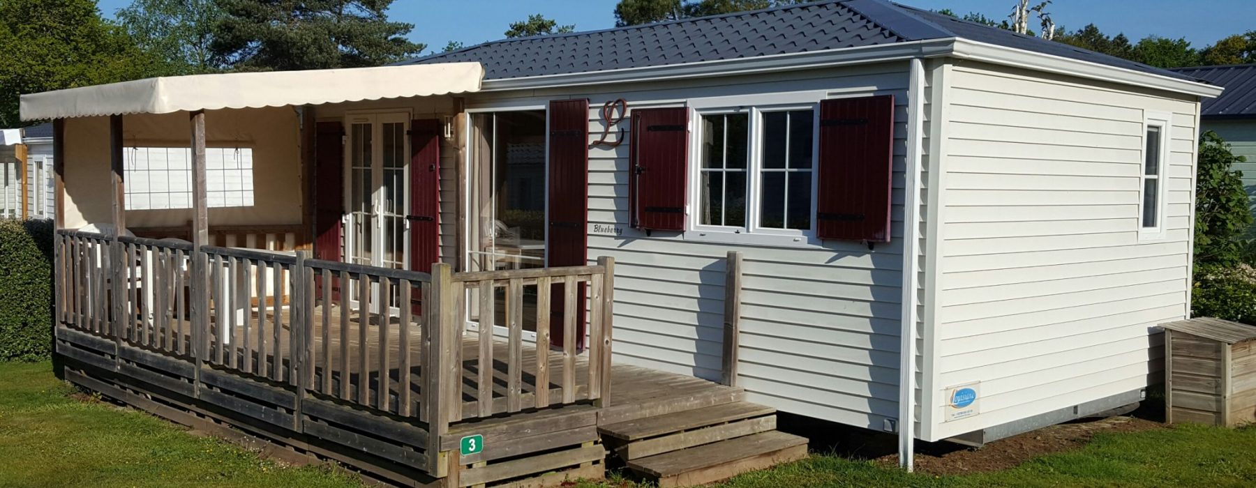 Mobil-home camping Pont-Scorff