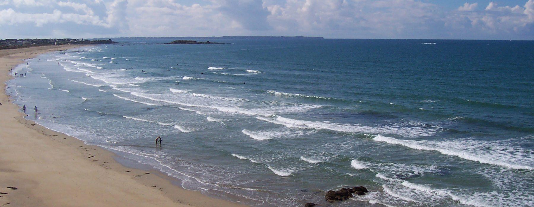 plage Camping Entre Terre et mer Morbihan