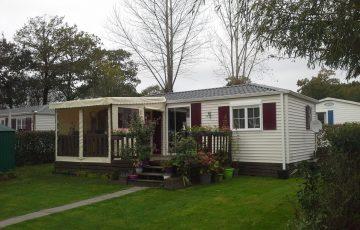 vente mobil-home Camping Entre Terre et mer Morbihan