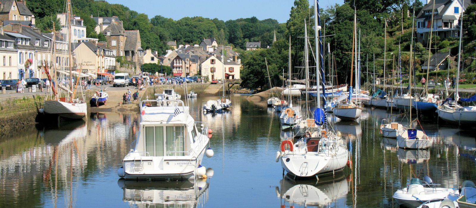 pont de Pont-Aven alentours Camping Entre Terre et mer Morbihan